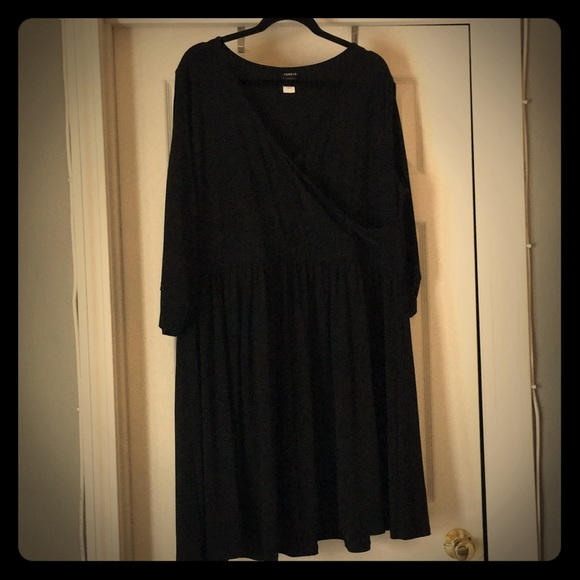 torrid Dresses & Skirts   Plus Size Black Fit Flare Cocktail Dress ...